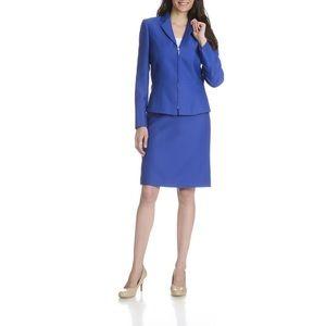Tahari Arthur S. Levine Royal Blue Blazer Jacket